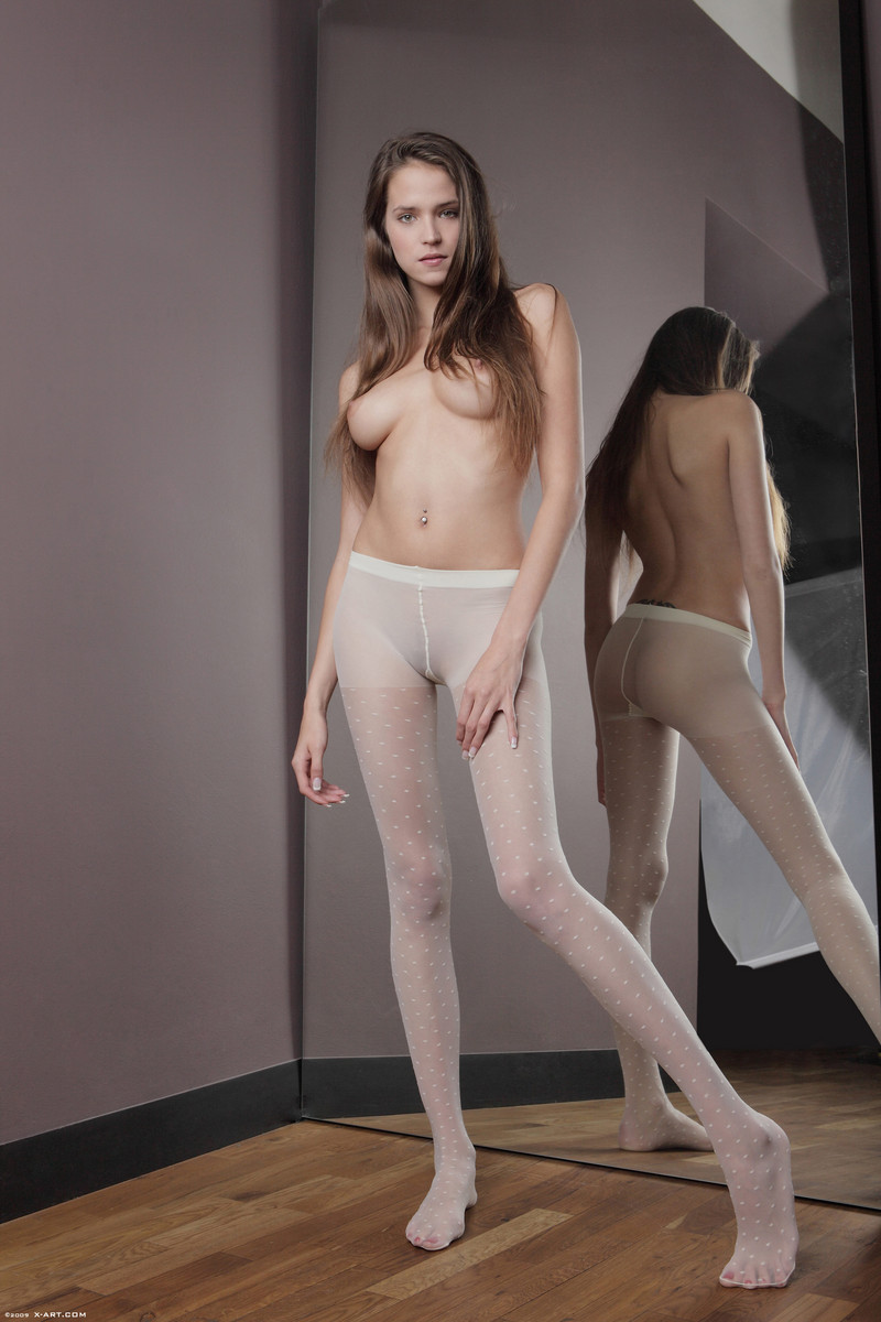 naked asian girls in tights